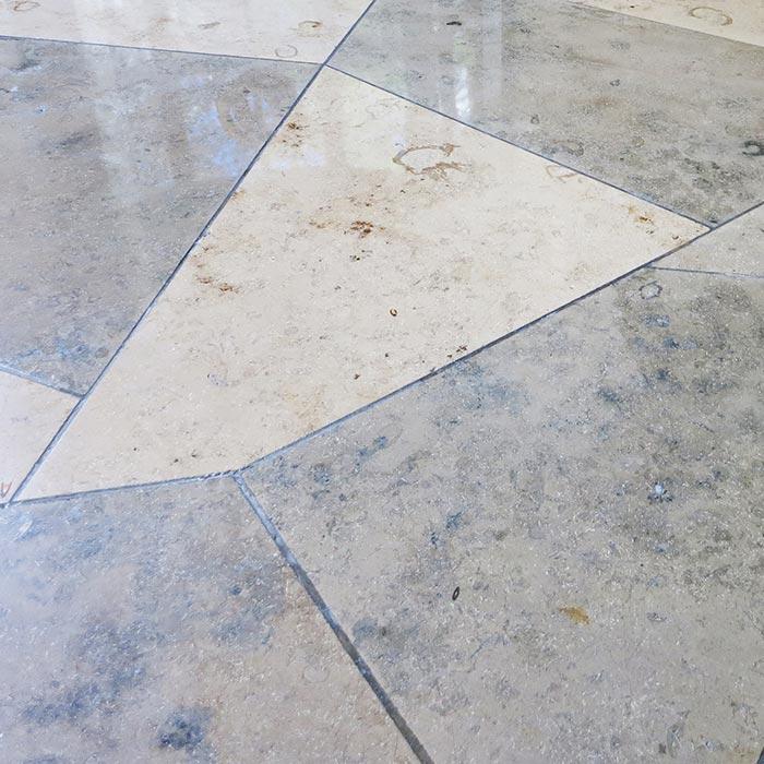 kristallisieren von marmor